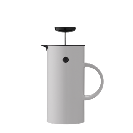 EM Press Coffee Maker Light Grey