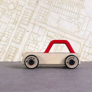 The Hatch Toy Car <br>by PLYable