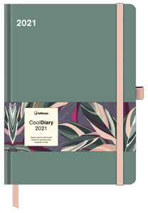 Sage Green Cool Diary Large