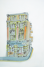 Load image into Gallery viewer, Paramount Books, Manchester by Kathryn Edwards <br>Painting