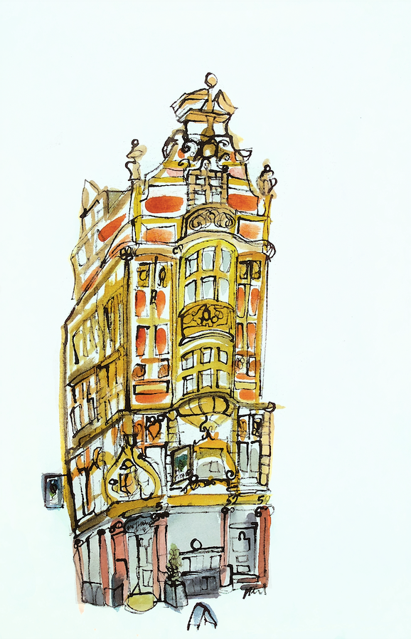 Mr Thomas Chop House, Manchester by Kathryn Edwards <br>Painting