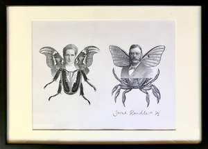 Winged Couple by Sarah Randles <br>Collage