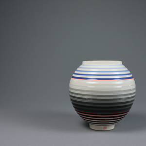 OPot - Moon Jar by Jin Eui Kim <br>Ceramic