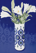 Load image into Gallery viewer, AK Kaiser Vase with Lilies by Helen Kirkpatrick <br>Painting