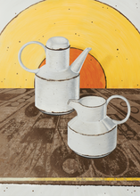 Load image into Gallery viewer, Stonehenge Coffee Pot & Jug by Helen Kirkpatrick <br>Painting