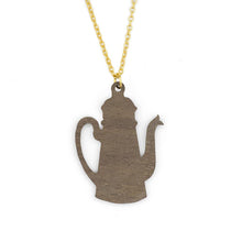 Load image into Gallery viewer, Retro Teapot Necklace