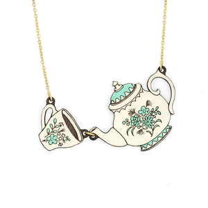 Tea Time Necklace