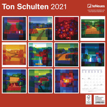 Load image into Gallery viewer, Ton Schulten 2021 Wall Calendar