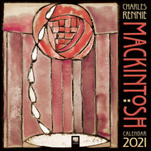 Load image into Gallery viewer, Charles Rennie Mackintosh Wall Calendar 2021