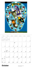 Load image into Gallery viewer, Charley Harper 2021 Wall Calendar