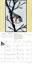 Load image into Gallery viewer, Chris Pendleton's Birds Mini Wall Calendar 2021