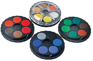 Watercolour Disc Set of 4 Tiers