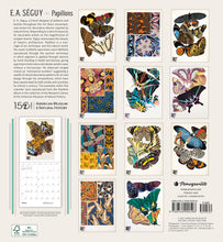 Load image into Gallery viewer, E.A. Séguy: Papillons 2021 Wall Calendar