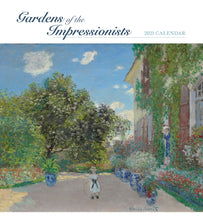 Load image into Gallery viewer, Gardens of the Impressionists 2021 Wall Calendar