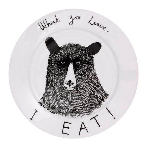 Plate - What You Leave I Eat