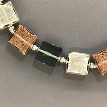 Load image into Gallery viewer, Glass Squares Necklace by Anna Sixsmith