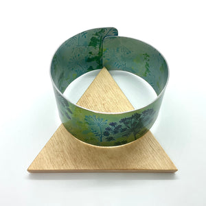 Hand Painted Wrap Cuff By Jenny Rothwell