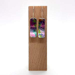 Hand painted Medium Earrings By Jenny Rothwell