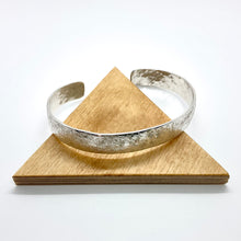 Load image into Gallery viewer, Hammered Cuff Bracelet By Rebecca Beyond