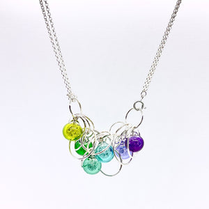 Six Bubble Convertible Necklace By Charlotte Verity