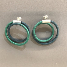 Load image into Gallery viewer, Double Loop Earrings by Gilly Langton