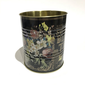 Dutch Floral Storage Tea Tin