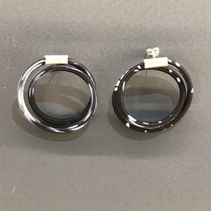 Double Loop Earrings by Gilly Langton