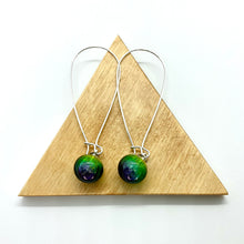 Load image into Gallery viewer, Bubble Long Hook Earrings By Charlotte Verity