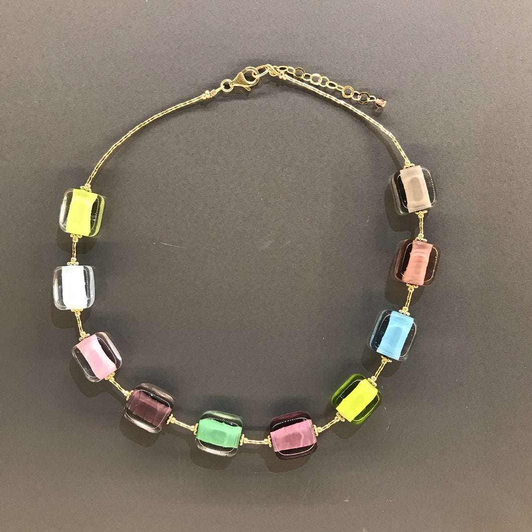 Multicolour Necklace by Anna Sixsmith