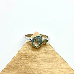 Topaz Ring by Kylie Yeung