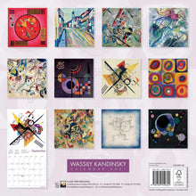Load image into Gallery viewer, Wassily Kandinsky Wall Calendar 2021