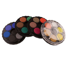 Load image into Gallery viewer, Watercolour Disc Set of 4 Tiers