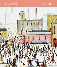 Load image into Gallery viewer, L. S. Lowry Desk Diary 2021