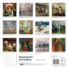 Load image into Gallery viewer, Manchester Art Gallery 2021 Wall Calendar