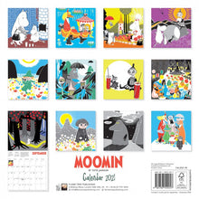 Load image into Gallery viewer, Moomin Wall Calendar 2021