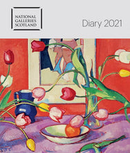Load image into Gallery viewer, National Galleries Scotland Desk Diary 2021