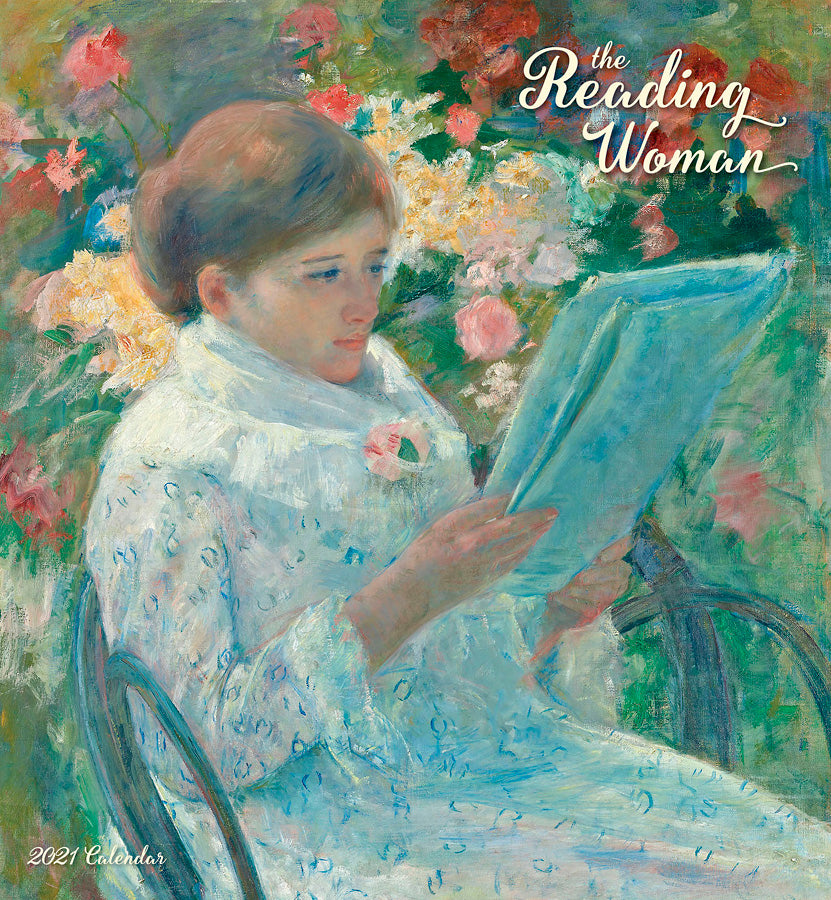 The Reading Woman 2021 Wall Calendar