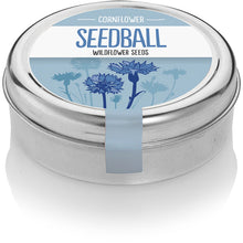 Load image into Gallery viewer, Seedball Cornflower Tin