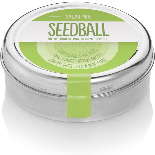 Seedball Salad Mix