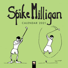 Load image into Gallery viewer, Spike Milligan Wall Calendar 2021