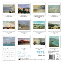 Load image into Gallery viewer, Tate - Coastlines Wall Calendar 2021