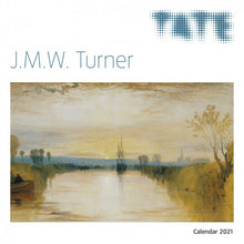 Load image into Gallery viewer, Tate - J.M.W. Turner Wall Calendar 2021