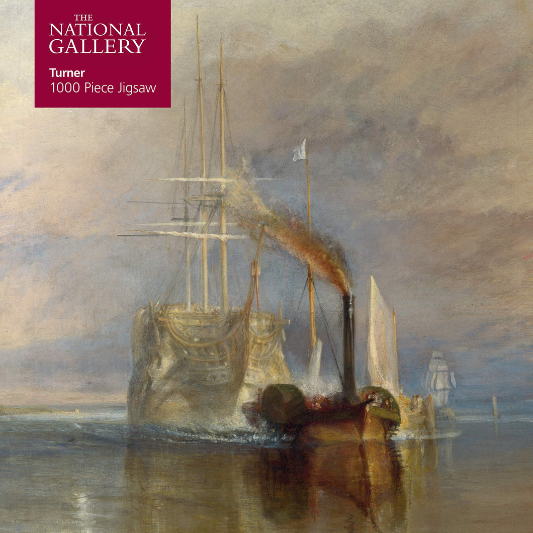 National Gallery 1000 Piece Jigsaw - Turner: Fighting Temeraire