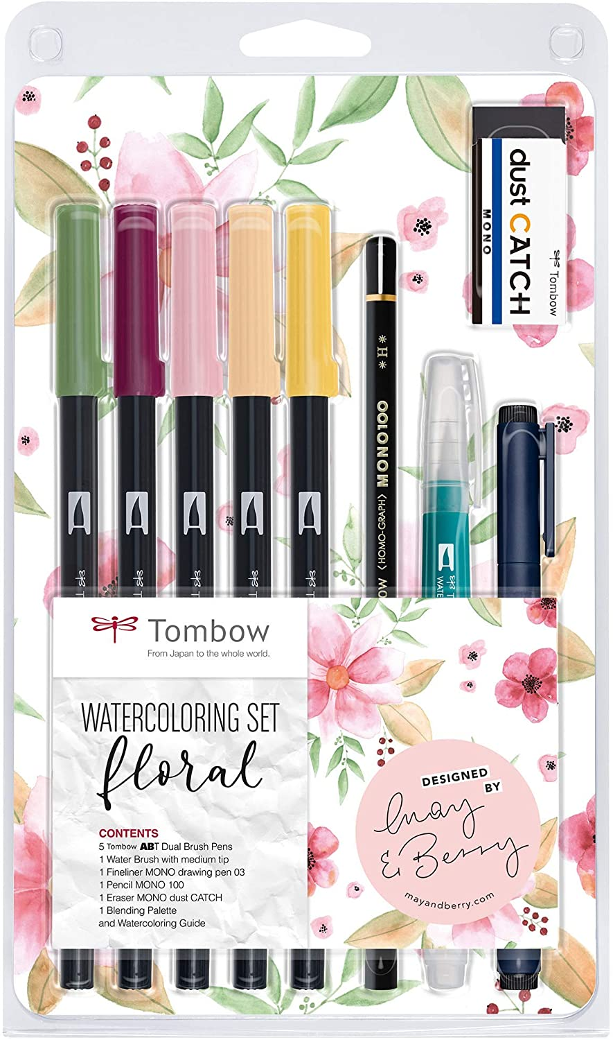 Watercolouring Set Floral