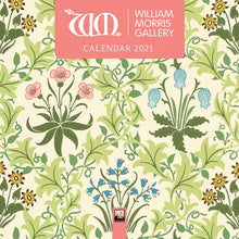 Load image into Gallery viewer, William Morris Gallery Mini Wall Calendar 2021