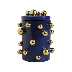 Blue Dots Jar