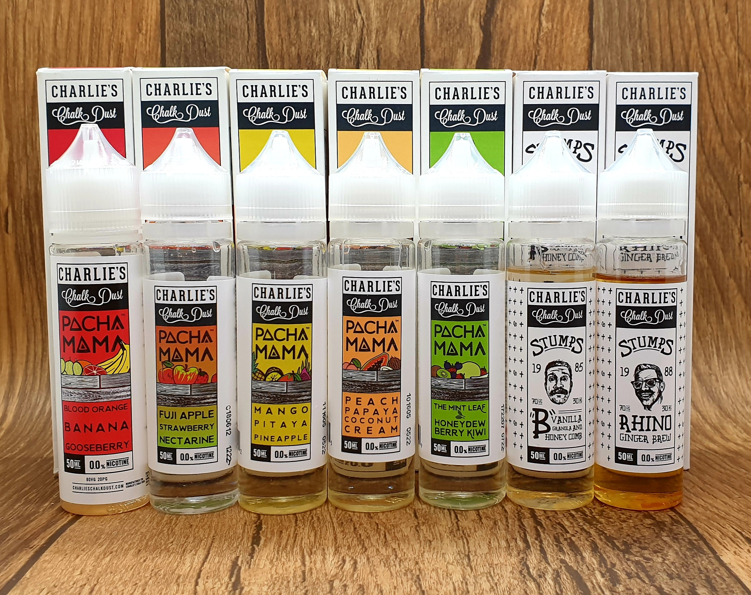 Charlie's Chalk Dust - Pacha Mama Blood Orange Banana 50ml ( Orange sanguine, Banane, Myrtille )