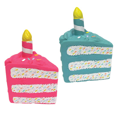 "Birthday Cake Chew Toys (6"")"