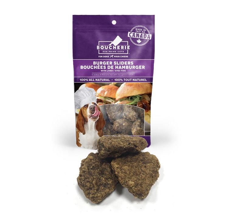 Burger Sliders with Liver - 112g / 4oz - Case of 6