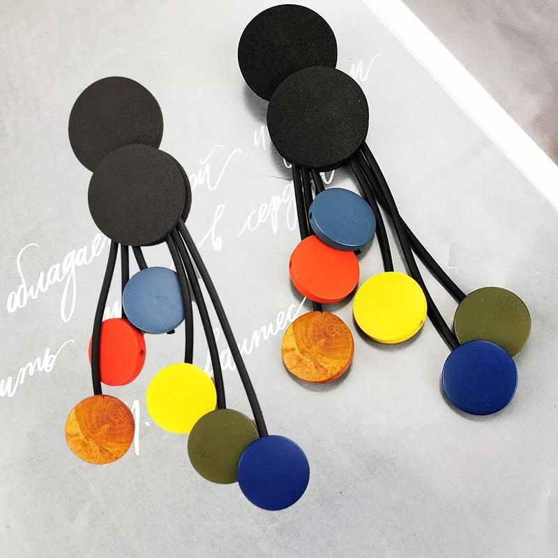 Multicolor Drop earrings - Leone Culture